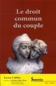 DROIT COMMUN DU COUPLE