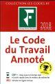 LE CODE DU TRAVAIL ANNOTE 2018