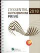 ESSENTIEL DU PATRIMOINE PRIVE 2018
