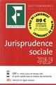 DICTIONNAIRE JURISPRUDENCE SOC