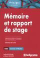 MEMOIRE ET RAPPORT DE STAGE