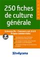 250 FICHES DE CULTURE GENERALE 8EME EDITION