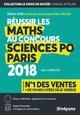 REUSSIR LES MATHS AU CONCOURS SCIENCES PO PARIS