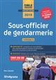 SOUS OFFICIER DE GENDARMERIE 2019