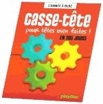 CALENDRIER 365 CASSE-TETES POUR TETES BIEN FAITES - L'ANNEE A BLOC XXX Play Bac