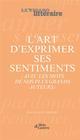 L'ART D'EXPRIMER SES SENTIMENTS - (AVEC LES