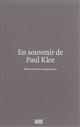 En souvenir de Paul Klee