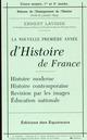 PETIT LAVISSE HISTOIRE FRANCE LAVISSE ERNEST DES EQUATEURS