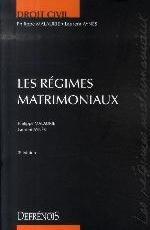 DROIT CIVIL LES REGIMES MATRIMONIAUX 2EME EDITION