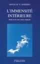 L'immensité intérieure HARDING DOUGLAS E. Accarias-L'Originel