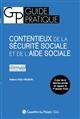 CONTENTIEUX DE LA SECURITE SOCIALE ET DEL'AIDE SOCIALE - A JOUR DE LA REFORME ENTREE EN VIGUEUR LE 1