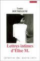 LETTRES INTIMES D'ELISE M.