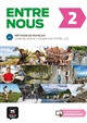 ENTRE NOUS 2 - LIVRE DE L'ELEVE + CD + CAHIER D'ACTIVITES COLLECTIF la Maison des langues