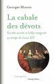 LA CABALE DES DEVOTS MINOIS GEORGES CHAMP VALLON