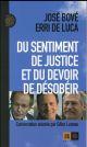 DU SENTIMENT DE JUSTICE ET DU DEVOIR DE DESOBEIR